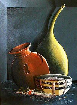 Pots et Pierres by Laurend Doumba
