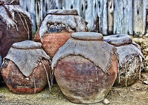 Pots by Karen Walzer