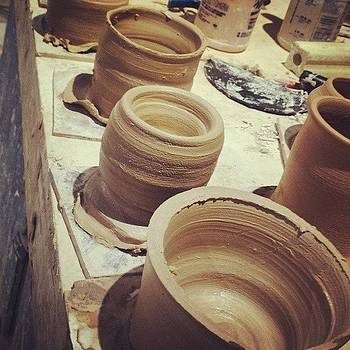 #pottery 2nd Class by Zarah Delrosario
