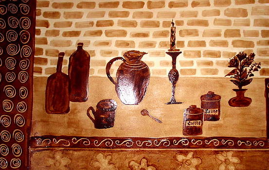 Pottery 4 by Ghee Flores