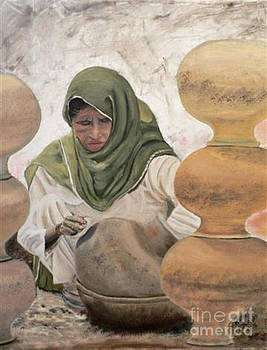 Jeanette Louw - Pottery Lady