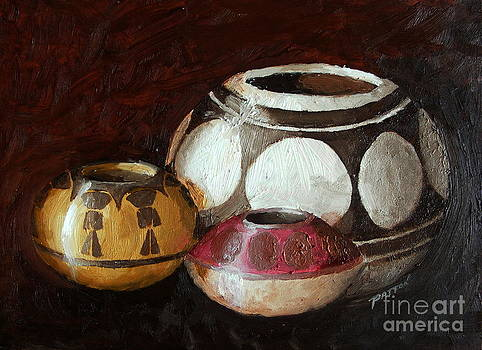 Pottery Still Life by Steve Patton