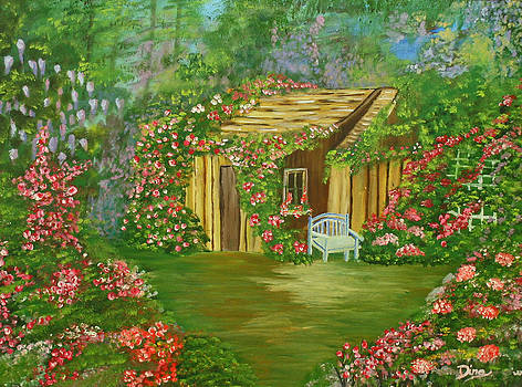 Potting Shed by Dina Jacobs