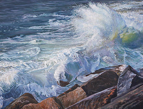 Pounding Surf by Eric Soller