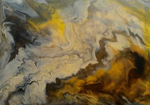 Pour Painting by Sonya Wilson