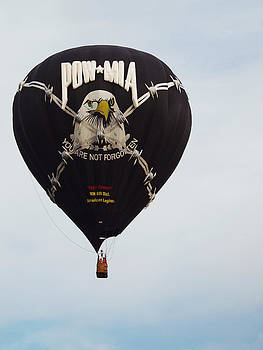 POW/MIA Hot Air Balloon by Monica Veraguth