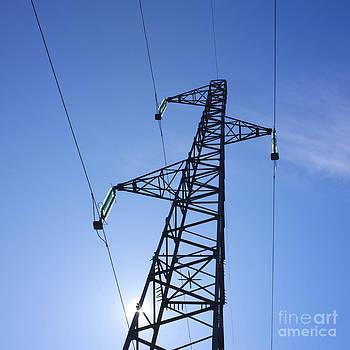 BERNARD JAUBERT - Power pylon