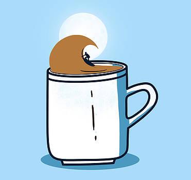 Powered by coffee by Neelanjana  Bandyopadhyay