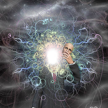 Powereful being reveals true self by Bruce Rolff