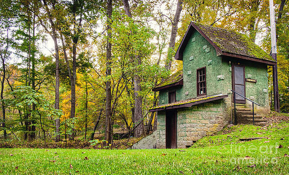 Powerhouse in Autumn by Shannon Beck-Coatney
