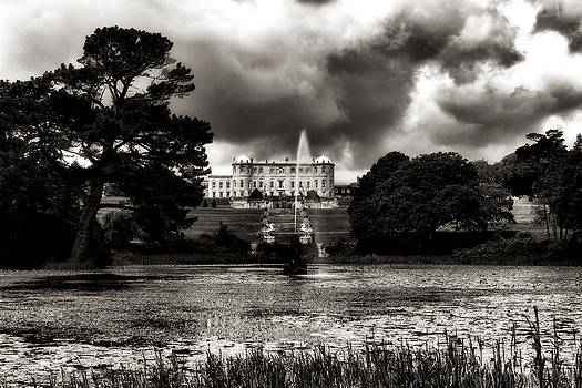 Powerscourt Mansion and Gardens - Enniskerry - Ireland by Photography  By Sai