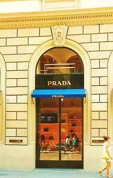 Prada Florence Italy by Deborah Gorga