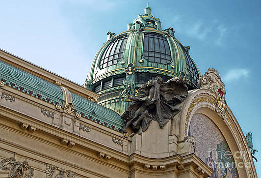 Gregory Dyer - Prague - Opera House Roof