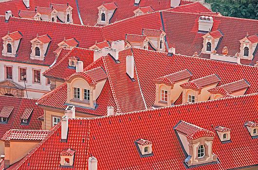 Dennis Cox WorldViews - Prague roofs