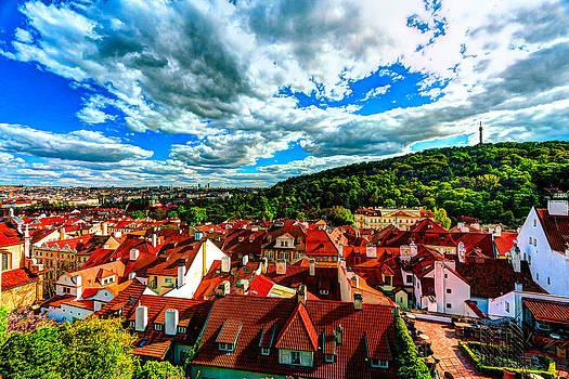 Prague Rooftops by Musa GULEC