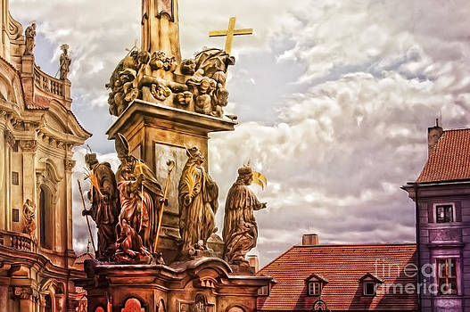 Justyna Jaszke JBJart - Prague St. Nicholas Church