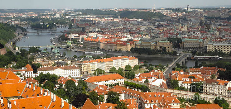 Gregory Dyer - Prague - View from Castle tower - 02