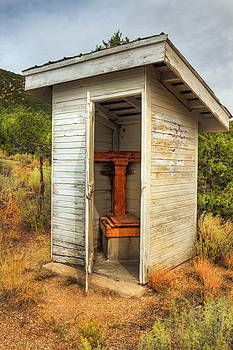 Prarie Outhouse by Rick Otto
