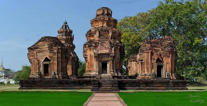 Prasat Sikhoraphum Surin Thailand by Bruce Nutting
