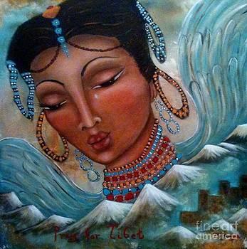 Pray for Tibet by Maya Telford