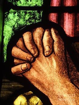 Prayer and the Setting Sun by Elizabeth Briggs