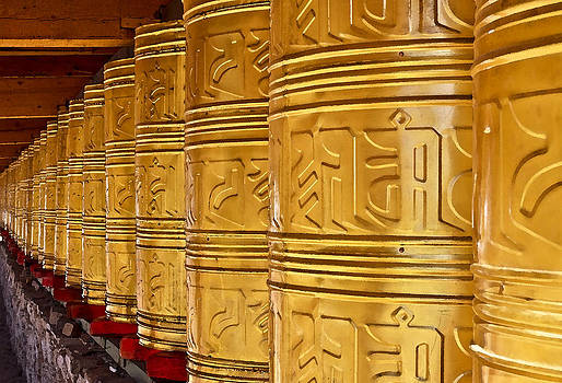 Prayer Wheel by Jason KS Leung