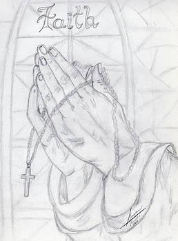 Praying Hands by Susan Turner Soulis
