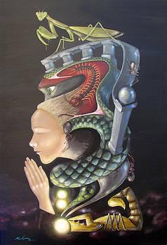 Praying Mantis by Kevin Escobar