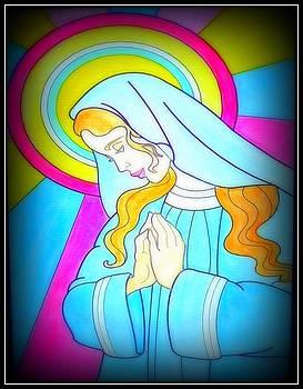 Praying Maria by Anke Wheeler