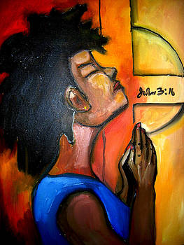 Praying Woman by Sidney Holmes