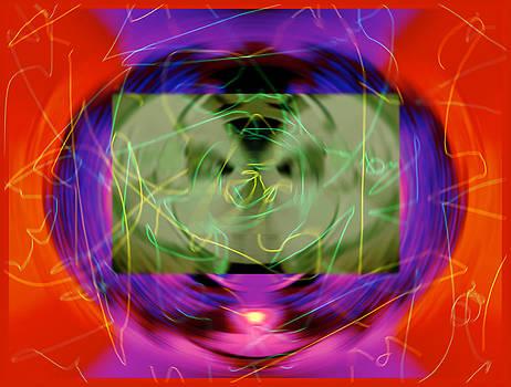 Pre-chaos-ed Emptiness Urn 2015 by James Warren