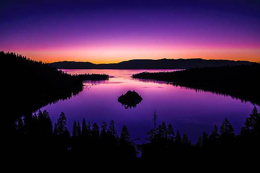 Pre-Dawn Calmness - Emerald Bay by Brandon McClintock