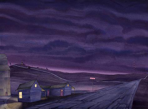 Pre-Dawn On The Hi-Line VI by Scott Kirby