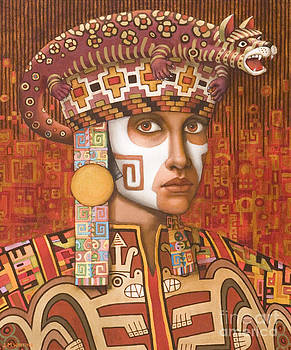 Pre-Inca 1 by Jane Whiting Chrzanoska