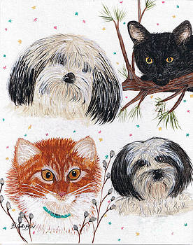 Barbara Griffin - Precious Pets - Cats and Dogs