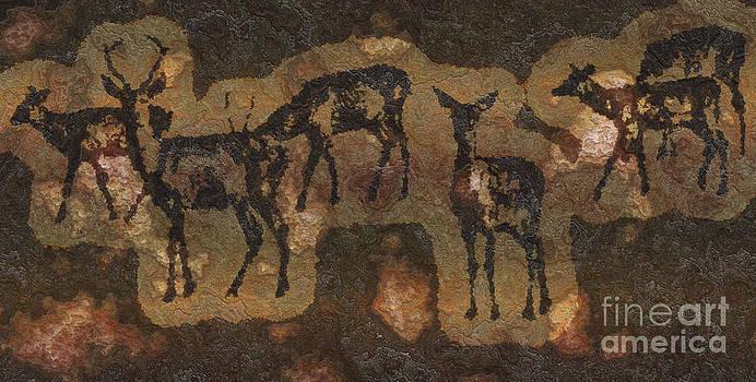 Prehistoric Deer by Skye Ryan-Evans
