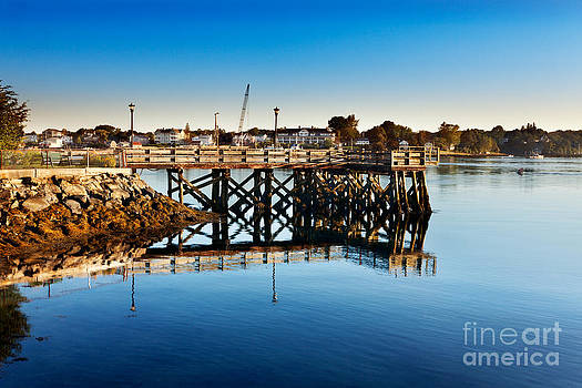 Jo Ann Snover - Prescott Park jetty