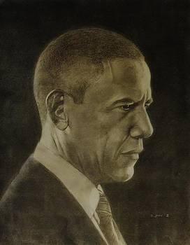 President Barack Obama by Glenn Daniels
