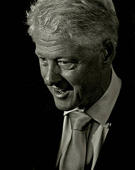 President of the United States William Jefferson Bill Clinton by Gilberto Gutierrez