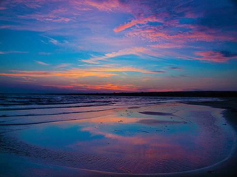 Presquile Sunset 1 by Bernd Buessecker