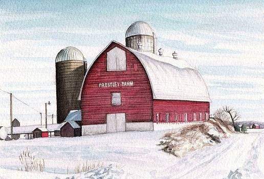 Prestley Barn by Michael  Martin