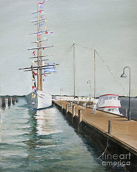 Prestons Dock by Edward Coster