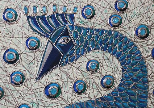 Pretty as a Peacock 2 by Cynthia Snyder