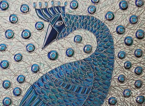 Pretty as a Peacock  by Cynthia Snyder