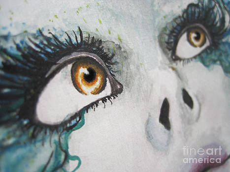 Pretty Eyes by Karisa Kauspedas