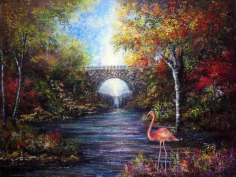 Pretty Flamingo by Ann Marie Bone