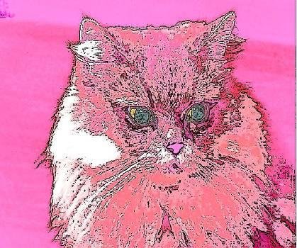 Pretty Kitty in Pink by Kathy Budd