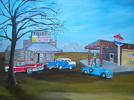 Price's Bar B Que and Grille by Linda Bright Toth