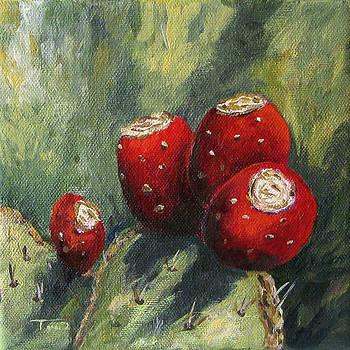 Prickly Pear Cactus II by Torrie Smiley