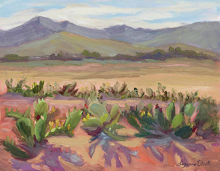 Prickly Pear Cactus Ranch by Suzanne Elliott